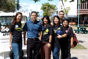 Senator Brian Schatz at HonoluluCC