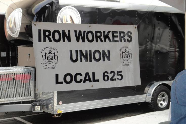 Honolulu Iron Workers Union at HonoluluCC