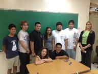 Senator Suzanne Chun-Oakland and Team Hawai'i Robotics