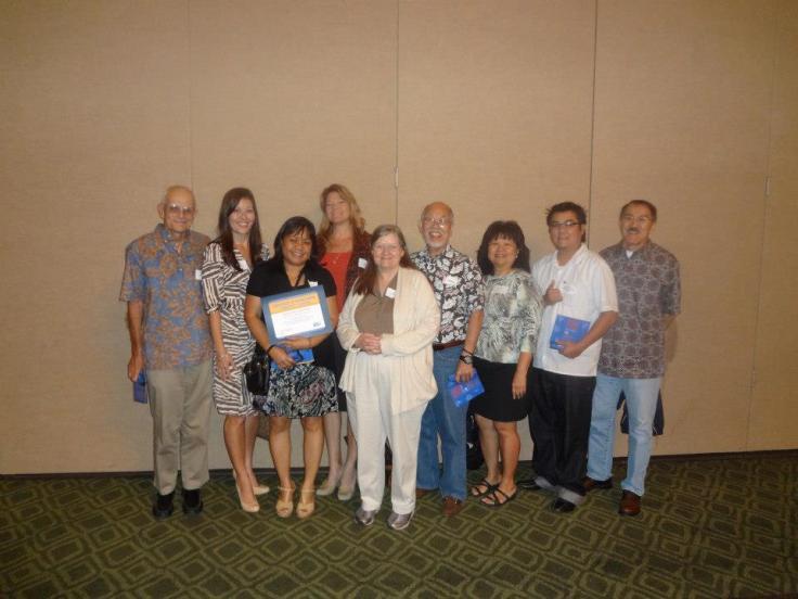 HonoluluCC at 2013 Aloha United Way Spirit of Community Award.