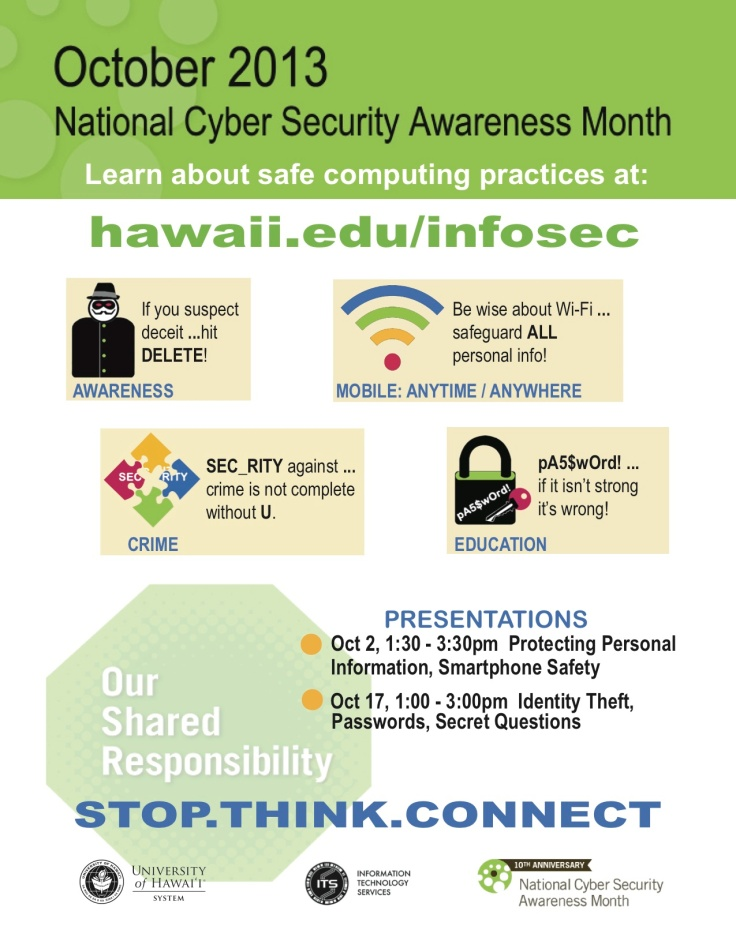NCSAM Poster Honolulu CC
