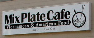 Mixed Plate Cafe Kalihi