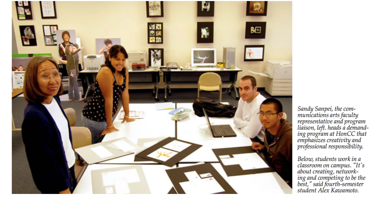 HonoluluCC Communication Arts Program