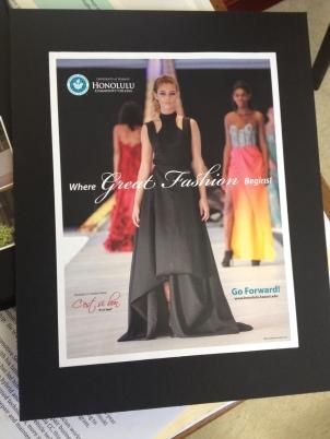"""Where Great Fashion Begins!"" Print Ad Single"