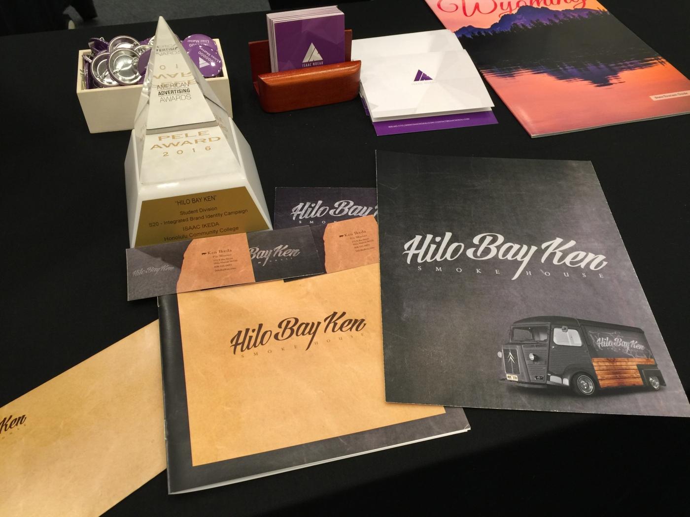 Ikeda's Pele Award winning project - Hilo Bay Ken.