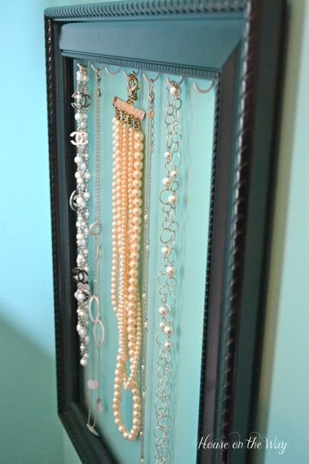 Jewelry Holder Frame and Hooks.jpg